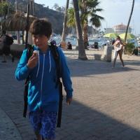 Catalina, post scuba diving!